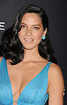 BEVERLY HILLS, CA- FEBRUARY 22: Actress Olivia Munn arrives at the 16th Costume Designers Guild Awards at The Beverly Hilton Hotel on February 22, 2014 in Beverly Hills, California.
