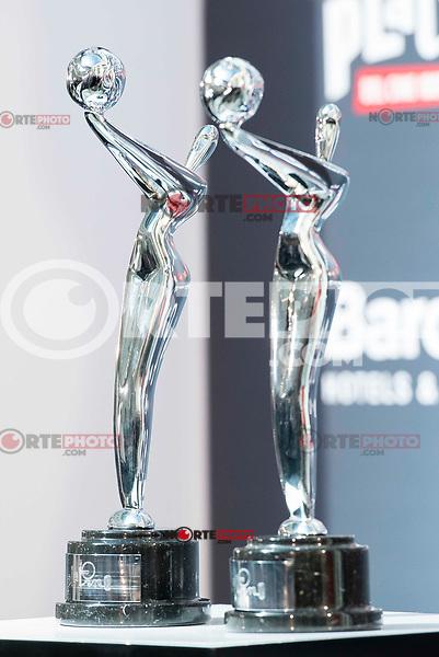 "Platino awards at the presentation of the ""Premios Platino"" at Palacio de Cristal in Madrid. April 07, 2017. (ALTERPHOTOS/Borja B.Hojas) (NortePhoto.com)"