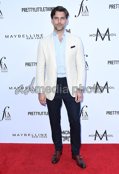 08 April 2018 - Beverly Hills, California - Johannes Huebl. The Daily Front Row's 4th Annual Fashion Los Angeles Awards held at The Beverly Hills Hotel. Photo Credit: Birdie Thompson/AdMedia