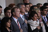 WASHINGTON, DC - DECEMBER 03: Marvin Bush (C), son of former U.S. President George H. W. Bush, and members of his family watch as a U.S. military honor guard carries the casket of his father into the U.S. Capitol December 3, 2018 in Washington, DC. A state funeral for former U.S. President Bush will be held in Washington over the next three days, beginning with him lying in state in the Rotunda of the Capitol until Wednesday morning.(Photo by Win McNamee/Getty Images)