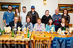 Sheila Horgan from Lixnaw celebrating her birthday in Bella Bia on Sunday.<br /> Seated l to r: John Horgan, Catherine Keane, Sheila and Anna Horgan and Cecila Lyons.<br /> Back l to r: Padraig, Katie and Christopher Keane, Liam Horgan, Julie Lyons, Mike Keane and Leanne Lyons.