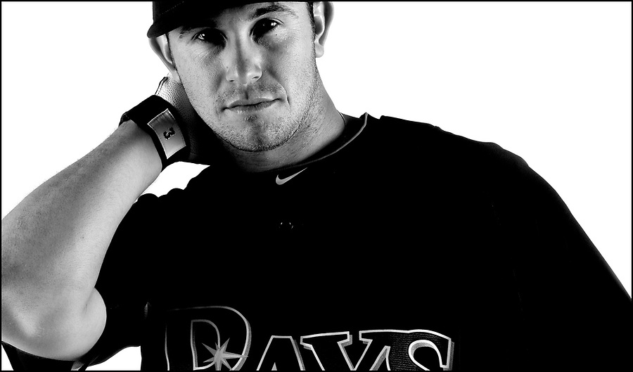 Tampa Bay Rays third baseman Evan Longoria. Copyright: BRIAN BLANCO/2010..NO THIRD PARTY SALES OR LICENSING. NO COMMERCIAL SALES or USE without authorization from BRIAN BLANCO - (941) 447-9505 bblanco@brianblanco.com .In house, editorial, license for print and web usage authorized to STACK Magazine. Editor Kyle Woody. All other usage please contact rights holder.