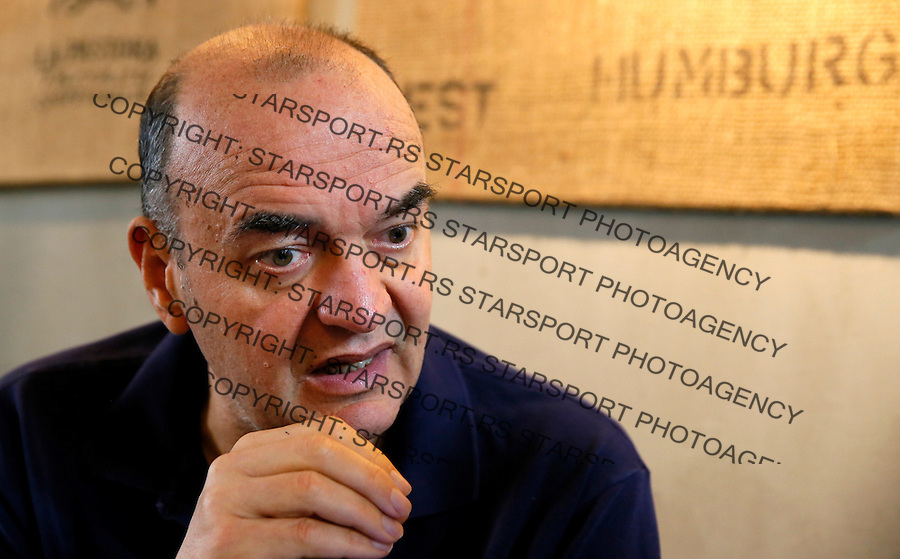 Dusko Vujosevic, 21.12.1015. December 21. 2015. (credit image & photo: Pedja Milosavljevic / STARSPORT)