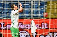 Filip Djuricic of Sassuolo celebrates after scoring goal of 0-1 <br /> Genova 03-02-2019 Stadio Marassi, Football Serie A 2018/2019 Genoa - Sassuolo   <br /> Foto Image Sport / Insidefoto