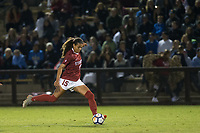 STANFORD, CA - September 27, 2018: Alana Cook at Stanford Stadium. The Stanford Cardinal defeated the UCLA Bruins, 3-2.