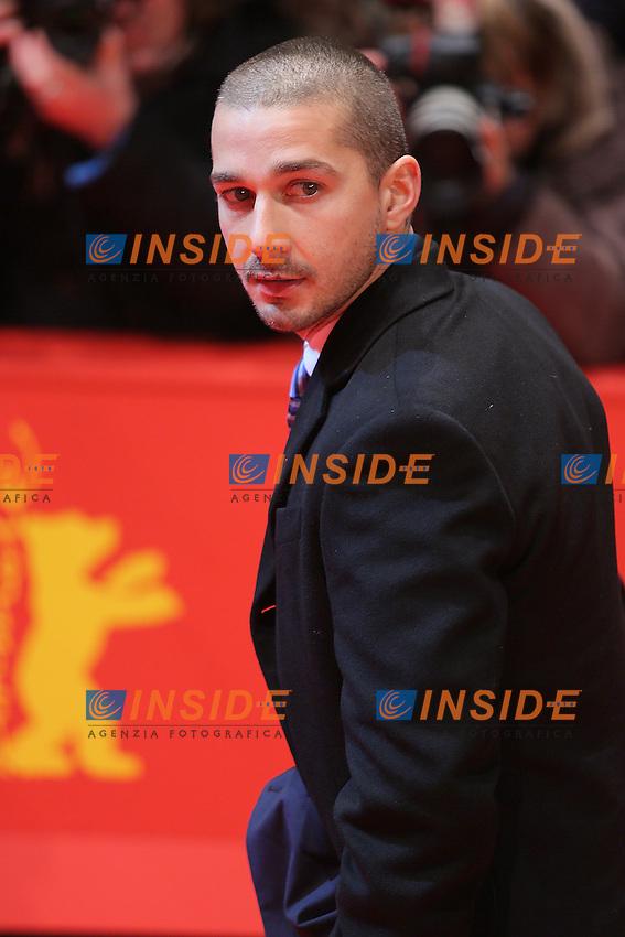Shia LeBeouf.Berlin 09/02/2013. 63th Berlinale 'The Necessary Death of Charlie Countryman' premiere. .foto Mark Cape/Insidefoto