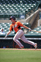 Baltimore Orioles Jason Heinrich (17) during an instructional league game against the Minnesota Twins on September 22, 2015 at Ed Smith Stadium in Sarasota, Florida.  (Mike Janes/Four Seam Images)