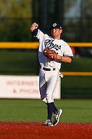 John Leonard #21 of the Hillsboro Hops during a game against the Spokane Indians at Hillsboro Ballpark on July 22, 2013 in Hillsboro Oregon. Spokane defeated Hillsboro, 11-3. (Larry Goren/Four Seam Images)