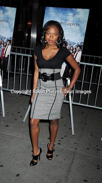 "recording artist Naturi Naughton..arriving at The Special Screening of ""Tyler Perry's The Family That Preys"" on September 8, 2008 at The AMC Loews Lincoln Center in New York City. ....Robin Platzer, Twin Images"