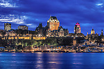 Canada, Quebec, Twilight Quebec City