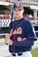 Binghamton Mets Corey Ragsdale poses for a photo before an Eastern League game at Jerry Uht Park on April 29, 2006 in Erie, Pennsylvania.  (Mike Janes/Four Seam Images)
