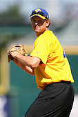 April 17, 2009:  Pitcher Matt Peterson of the Jacksonville Suns, Southern League Class-AA affiliate of the Florida Marlins, during a game at the Baseball Grounds of Jacksonville in Jacksonville, FL.  Photo by:  Mike Janes/Four Seam Images