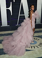 BEVERLY HILLS, CA - FEBRUARY 24: Winnie Harlow at the 2019 Vanity Fair Oscar Party at the Wallis Annenberg Center for the Performing Arts on February 24, 2019 in Beverly Hills, California. (Photo by Xavier Collin/PictureGroup)