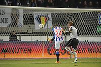 VOETBAL: SC HEERENVEEN: Abe Lenstra Stadion, 17-02-2012, SC-Heerenveen-NAC, Eredivisie, Eindstand 1-0, Luciano Narsingh (24), Jelle ten Rouwelaar, ©foto: Martin de Jong