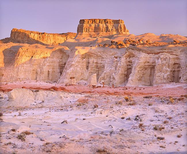 early morning light on hoodoos, Utah