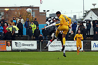 O's Macauley Bonne scores and celbrates O's opening goal during Maidenhead United vs Leyton Orient, Vanarama National League Football at York Road on 6th October 2018