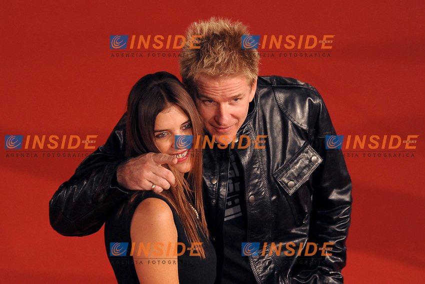 Gisella Marengo and Matthew Modine attend the Marc'Aurelio acting award red carpet during the 3rd Rome International film Festival held at the Auditorium Parco della Musica on October 22, 2008 in Rome Italy.<br /> Foto Andrea Staccioli Insidefoto