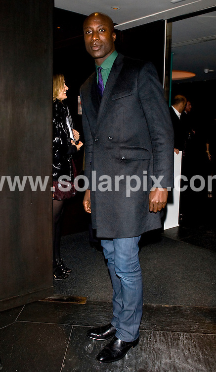 **ALL ROUND PICTURES FROM SOLARPIX.COM**.**WORLDWIDE SYNDICATION RIGHTS**.Outside arrivals at GQ Magazine's 20th Anniversary party. Held at St Albans restaurant, Regents Street, London, UK. Thursday November 6, 2008...This pic: Oswald Boateng..JOB REF:  7811 SSD     DATE: 06_11_2008.**MUST CREDIT SOLARPIX.COM OR DOUBLE FEE WILL BE CHARGED* *UNDER NO CIRCUMSTANCES IS THIS IMAGE TO BE REPRODUCED FOR ANY ONLINE EDITION WITHOUT PRIOR PERMISSION*