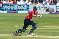 Alastair Cook hits four runs for Essex during Essex Eagles vs Notts Outlaws, Royal London One-Day Cup Semi-Final Cricket at The Cloudfm County Ground on 16th June 2017