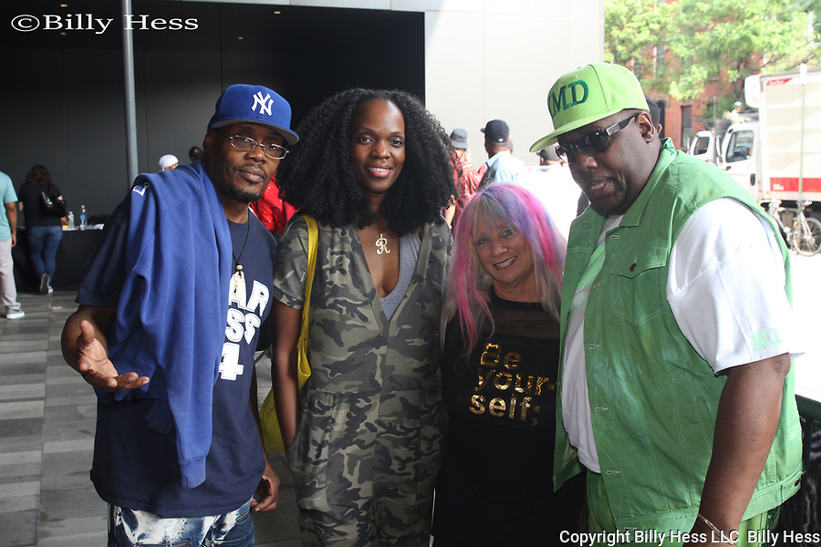 Eilleen shapiro at yo mtv raps 30th anniversary,