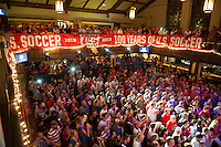 USMNT Fan Rally, Chalk Talk, Columbus, Ohio, Monday, September 9, 2013