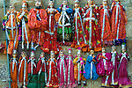 Dolls at market, Rajasthan, India