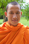 Monk At Choeung Ek