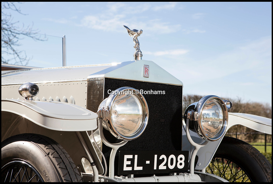 BNPS.co.uk (01202 558833)<br /> Pic: Bonhams/BNPS<br /> <br /> The jewel in the crown - Raj era Roller sells for £550,000.<br /> <br /> The Rolls from Rajputana... this regal Rolls-Royce formerly owned by an Indian Maharana who was at odds with George V has sold for a whopping £550,000.<br /> <br /> The Silver Ghost was special ordered in 1914 by His Highness the Maharana Sir Fateh Singh Bahadur of Udaipur - a longtime ruler of a princely state in the British Raj.  <br /> <br /> While clearly a fan of British engineering Fateh Singh Bahadur riled the sovereign when he refused to welcome Edward, Prince of Wales, later Edward VIII, to India in 1921. <br /> <br /> The vintage motor was sold by Bonhams auctioneer at the Goodwood Festival of Speed in West Sussex on June 30.