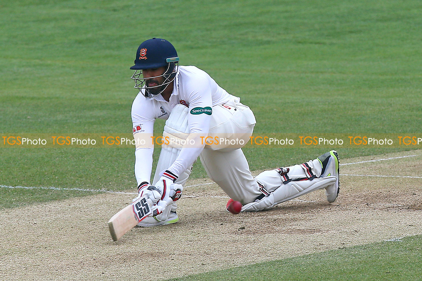 Ravi Bopara in batting action for Essex during Essex CCC vs Durham MCCU, English MCC University Match Cricket at The Cloudfm County Ground on 4th April 2017