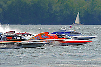 "Start/Final: Tom Pakradooni, GP-88, Patrick Haworth, GP-777 ""The Crush"",Marty Wolfe, GP-93 ""Renegade"", Bert Henderson, GP-77 ""Steeler"", Grand Prix class hydroplane(s).Syracuse Hydrofest, Onondaga Lake, Syracuse, NY.20/21 June, 2009, Dayton, OH USA..©F. Peirce Williams 2009 USA.F.Peirce Williams.photography.ref: RAW (.NEF) File Available"