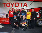 Antron Brown, Doug Kalitta, Cruz Pedregon, Richie Crampton, Antron Brown, Shawn Langdon, J.R. Todd, Del Worsham, pitpass, staff