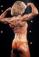 Atlantic City, NJ, April 24, 1981. Lisa Elliot at the Women's World Bodybuilding Championships.