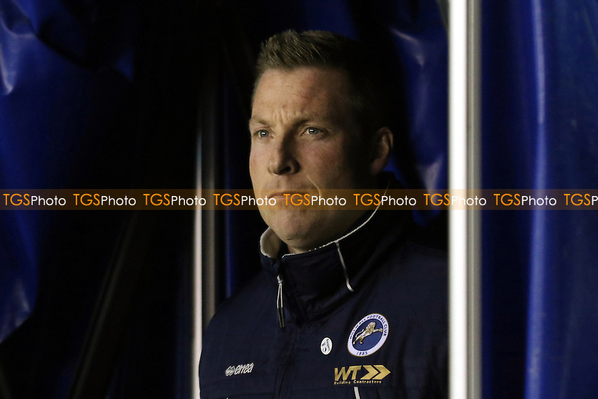 Millwall Manager, Neil Harris during Millwall vs Peterborough United, Sky Bet EFL League 1 Football at The Den on 28th February 2017