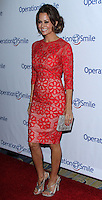 BEVERLY HILLS, CA - SEPTEMBER 27: Brooke Burke-Charvet arrives at the Operation Smile 2013 Smile Gala held at Regent Beverly Wilshire Hotel on September 27, 2013 in Beverly Hills, California. (Photo by David Acosta/Celebrity Monitor)
