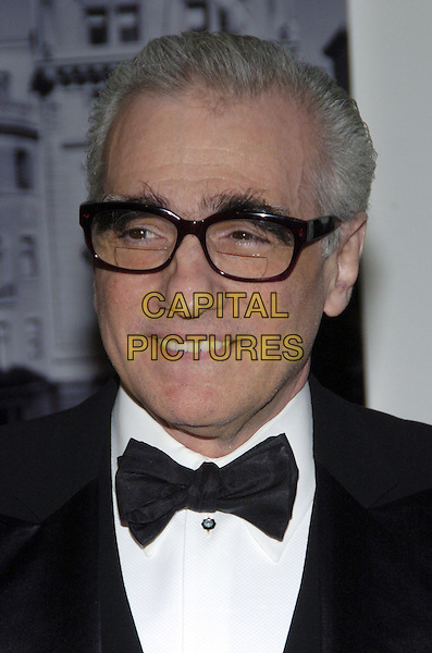 "MARTIN SCORSESE.The 39th annual ""The Party in the Garden"" at the Museum of Modern Art, New York City, New York, USA..May 15th, 2007.headshot portrait bow tie glasses .CAP/ADM/BL.©Bill Lyons/AdMedia/Capital Pictures *** Local Caption ***"