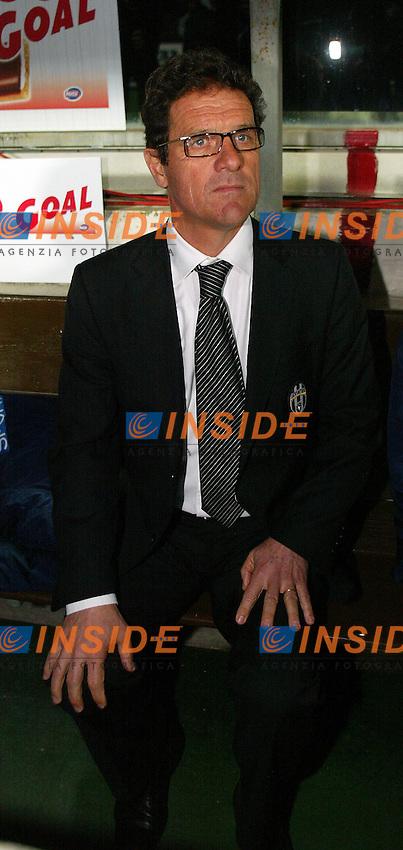 Firenze 9/4/2005 Campionato Italiano Serie A 2004/2005 <br /> Fiorentina Juventus 3-3 Fabio Capello Juventus trainer<br /> Photo Andrea Staccioli Insidefoto