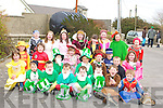 GATHERING: A gathering of Senior and Junior Infants in their St Particks day costumes after the St Patricks Day parade in Ballyduff on Monday. ..   Copyright Kerry's Eye 2008