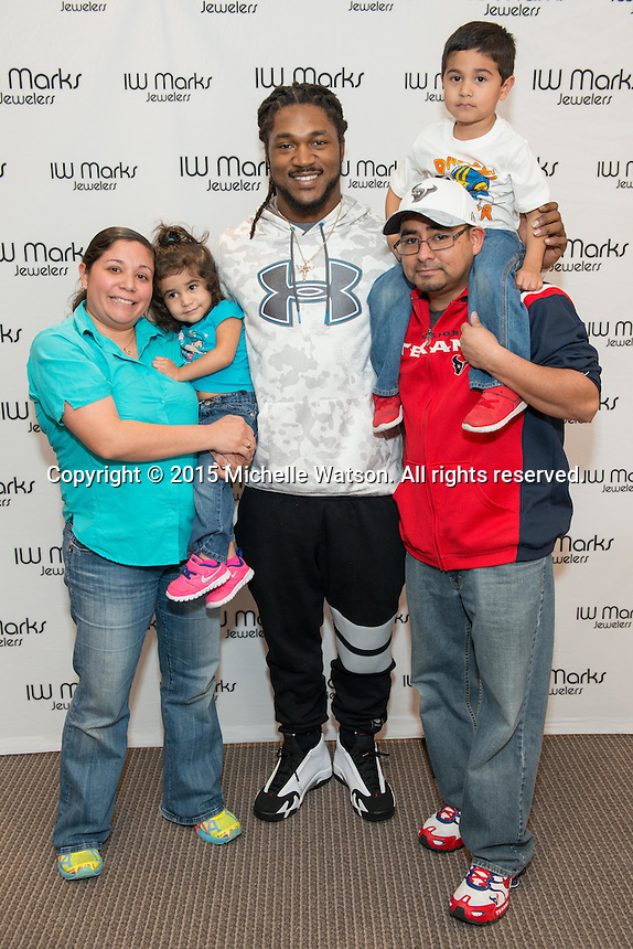 IW Marks Meet & Greet with Houston Texans Safety DJ Swearinger