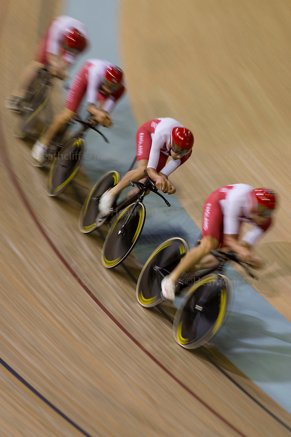Mcc0055084 . Daily Telegraph<br /> <br /> Sir Bradley Wiggins competing in the 4000m Team Pursuit Final representing England on Day One of the 2014 Commonwealth Games in Glasgow .<br /> <br /> 24 July 2014