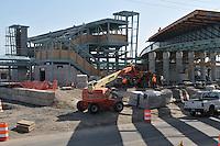 Construction Progress Railroad Station Fairfield Metro Center - Site visit 21 of once per month Chronological Documentation.