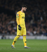 Tottenham Hotspur's Hugo Lloris<br /> <br /> Photographer Rob Newell/CameraSport<br /> <br /> UEFA Champions League Quarter-finals 1st Leg - Tottenham Hotspur v Manchester City - Tuesday 9th April 2019 - White Hart Lane - London<br />  <br /> World Copyright © 2018 CameraSport. All rights reserved. 43 Linden Ave. Countesthorpe. Leicester. England. LE8 5PG - Tel: +44 (0) 116 277 4147 - admin@camerasport.com - www.camerasport.com