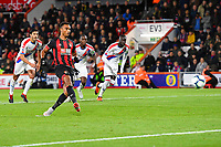 Junior Stanislas of AFC Bournemouth scores from the spot to make the score 2-1 during AFC Bournemouth vs Crystal Palace, Premier League Football at the Vitality Stadium on 1st October 2018