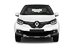 Car photography straight front view of a 2017 Renault Capture Initiale-Paris 5 Door SUV Front View