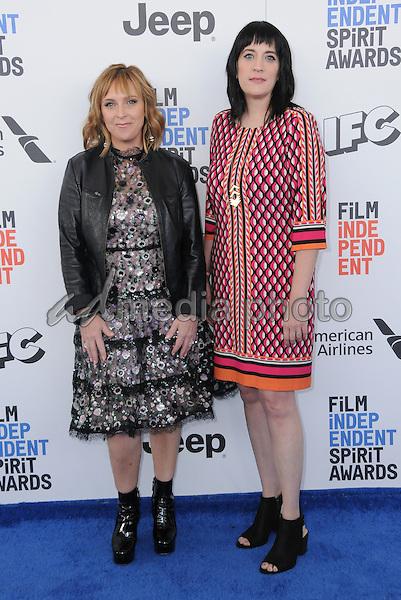 25 February 2017 - Santa Monica, California - Miranda Bailey, Amanda Marshall. 2017 Film Independent Spirit Awards held held at the Santa Monica Pier. Photo Credit: Birdie Thompson/AdMedia