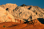 Morning light on sandstone, Snow Canyon State Park, Ivins, Utah's Dixie, near St. George, UTAH