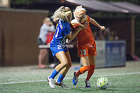Allston, MA - Wednesday Aug. 31, 2016: Christen Westphal, Denise O'Sullivan during a regular season National Women's Soccer League (NWSL) match between the Boston Breakers and the Houston Dash at Jordan Field.