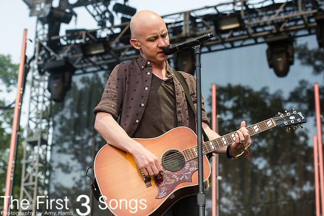 Isaac Slade of The Fray performs at the 2nd Annual BottleRock Napa Festival at Napa Valley Expo in Napa, California.