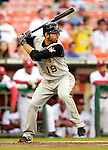 6 June 2007: Pittsburgh Pirates third baseman Jose Bautista in action against the Washington Nationals at RFK Stadium in Washington, DC. The Nationals defeated the Pirates 6-5 in the second game of their 3-game series...Mandatory Credit: Ed Wolfstein Photo