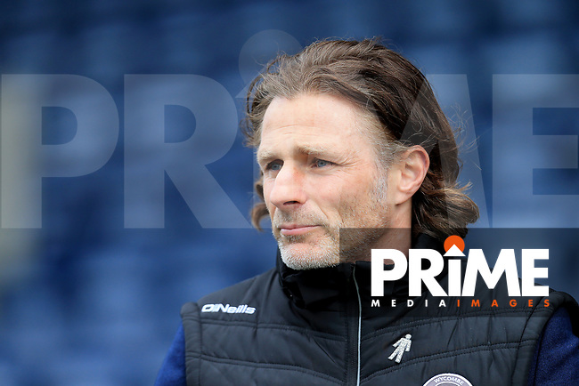 Wycombe Wanderers Manager Gareth Ainsworth during the Sky Bet League 1 match between Shrewsbury Town and Wycombe Wanderers at Greenhous Meadow, Shrewsbury, England on 16 March 2019. Photo by Leila Coker / PRiME Media Images.