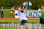 Robert Campbell Firies in the Boys u-12 Ball Throw at the Kerry community games athlethics finals at an Riocht, Castleisland on Sunday.